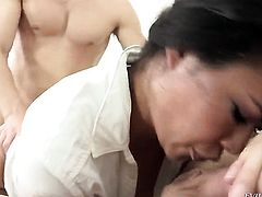 Dana Vespoli cant live a day without getting her anal hole fucked by hot dude Danny Wylde