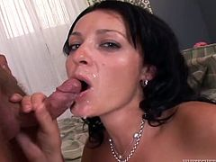 Have a look at this hot compilation where these horny mature ladies all end up with their faces covered by warm semen.