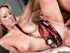 Carolyn Reese fucking like theres no tomorrow in sex action with hard dicked dude Danny Wylde