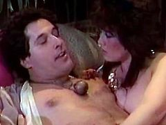 Big boobs chubby slut stands on forth and gets harsh asshole fuck and at the same time eats hairy pussy of her girlie. It's impossible to list all possible ways they fucked…Take a loo kat this FFM hot fuck in The Classic Porn sex clip!