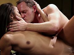 Make sure you get a load of this hardcore scene where the horny Misty Stone is fucked by a guy as she takes her breath away with each pound.