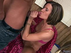 At first, she blows his big prick and gets her cunt fisted hard. Then she gets banged doggystyle and rides his tool in steamy Filthy and Fisting xxx video!