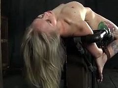 Sarah Jane Ceylon is ready for another bdsm training and she is about to get humiliated. Watch her getting tortured and her master makes her feel so miserable.