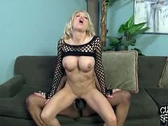 Helly Mae Hellfire's husband loves to watch while she fucks with another dudes. This time a young black dude from the hood is ready to destroy her white cunt.