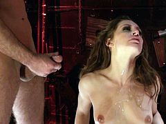 Make sure you have a look at this hardcore scene where the slutty Gracie Glam is fucked by two guys in a threesome.