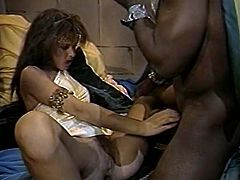 Watch this hot and super sexy and chubby babe getting fucked hard by her neighbour who loved he tight pussy in Classic Porn sex clips.
