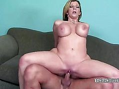 Breasty mother I'd like to fuck Sara Jay receives her snatch filled with wang