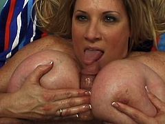Its amazing how she can moan with this strong cock up her fat pussy