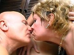 Mature lady enjoys sharing a tasty dick with her eagerly daughter