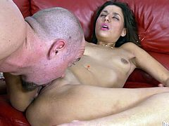 Make sure you have a look at this hardcore scene where the sexy Gigi Loren ends up with her mouth filled by cum after being fucked silly.