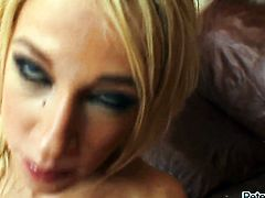 Jada Stevens cant live a day without getting her mouth fucked by hot dude