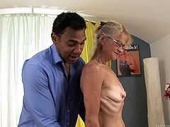 Old bitch gets her twat fucked by some horny fucker who's into grannies, hit play and check it out if you dig it. Grandma's got game, yo!