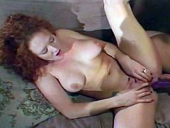 Hot redhead blows cock and she goes all the way to the balls before getting a rough fuck and da in the ass.