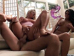 Steve Holmes attacks ultra hot Madelyn MarieS hole with his love torpedo