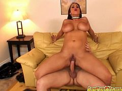 Carmella Bing is an extremely hot and dirty type of a girl who just loves riding her boyfriend's dick, and reverse cowgirl is one of her favorite sex positions.