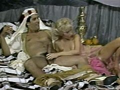 The video starts from filthy oral sex scene. Then it changes to the kinky cosplay scene where Sultan gets hot blowjob right in front of his guests. Check out this dirty The Classic Porn video on Anysex for free.