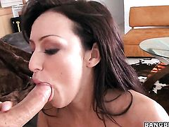 Breanne Benson gets the mouth fuck of her dreams with hard dicked guy