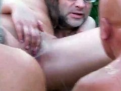 Explicit pissing party porn