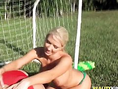 Blonde Molly Cavalli takes (Talk to This Girls love wand in her muff