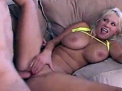 Just look at this sizzling and petite one Carly Parker! She is going to polish that huge cock and then it will make her moan so fucking loud.