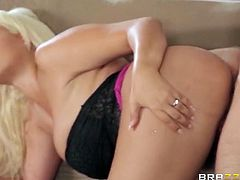 Brazzers Network brings you a hell of a free porn video where you can see how a horny dude gets to fuck the vicious blondes Nikki Benz and Bridgette B into heaven.