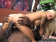 Beautiful Helly Mae Hellfire Goes Really Hardcore With A Black Guy