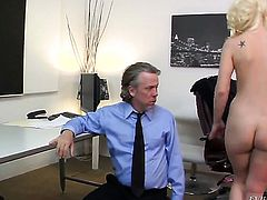 Tom Byron drills extremely hot Tara Lynn Foxxs twat in every sex positon