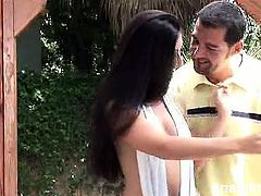 Hot Latina Luscious Lopez was more than ready to give her