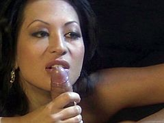 So, they are here to watch a movie, but seems like Gianna Lynn is going to get a bit naughty and get down on his huge cock! Oh, it's steaming.