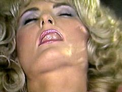Hot tempered black haired voracious Asian whoe eagerly swallows tremendous white honey sweet cock of brutal horny hungry dude. Watch this nice blowjob in The Classic Porn sex clip!