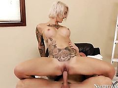 Johnny Sins explores the depth of playful Kleio Valentiens wet vagina with his cock