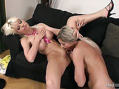 Vanessa Jordin fulfills her sexual needs and desires with Lola Darling