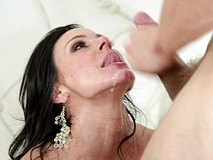 Astounding milf is more than happy to have young cock pounding her wet cunt