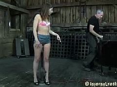 Miss Mia is the babe to watch in this nice and fresh update today and you will be in for one awesome show with her, and that's for sure. Sit back and watch this sexy little cutie as she gets bound nicely for her BDSM scene and see her getting her body toyed with for the whole afternoon today. We're sure that you will like it so just watch as the sexy submissive lady gets to have her sexy ass spanked and that perky pink pussy prodded with some toys today. Enjoy her getting her cunt fucked with toys while she's all tied up and have fun with her simply amazing and sexy scene today.