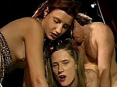 Insolent facial scenes with hotties eager to share and swallow