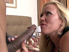 Big ass blonde Austin Taylor feels massive black cock drilling deep down her tight holes
