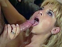Enjoy Ultra Milf blonde fucking like crazy with a hot hunk