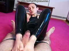 Attractive girl with dark hair plays with a sex toy first then she gets drilled in the bathroom in doggystyle. Have a look at this cutie in WTF Pass xxx video.