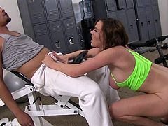 Krissy Lynn from Evil Angel goes crazy in a rough hardcore