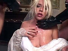 Getting dirty with warm jizz makes her desire more hardcore adventures