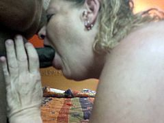 friends mom deep throating my dick
