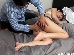 Just look at this horny babe! She is going to be enjoying her time, when he eats her beaver and then sticks his cock in her muff.