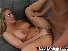Rocco Reed makes Holly Heart scream and shout with his sturdy sausage in her muff pie