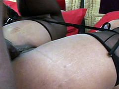 Big mouthed ebony wench with awesome breasts and nice booty passionately attacks hot blooded giant sausage of her African fuck man and swallows it hardcore deep throat. Watch this horny guys in My XXX Pass porn clip!