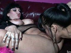 Horny couple of shemale sluts gathered to spend hot time together. These booty torrid creatures drilled each other all possible styles. Watch this disgusting TS fuck in Fame Digital sex video!s