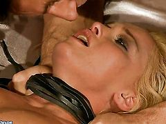 Blonde Kathia Nobili gets a bottom fuck
