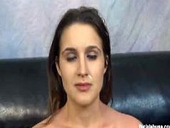 Facial Abuse brings you a hell of a free porn video where you can see how a hot brunette gets her cunt banged very hard into heaven before getting her face creamed.
