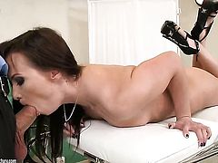 Teen Alysa Gap makes mans sexual fantasies a reality