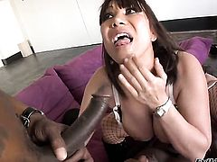 Rico Strong gets pleasure from fucking Ava Devine in her hot mouth after she gets fucked in her bum
