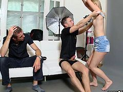 Goddess Janna Goes Hardcore With A Photographer In Front Of Her Boyfriend